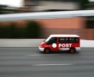 poczta biurowy samochód dostawczy obraz stock