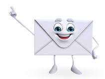 Poczta charakter wskazuje Zdjęcie Stock
