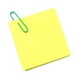 Poczta ja notatka odizolowywająca Obrazy Stock