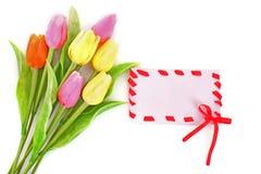 poczta karciana wiosna Obrazy Royalty Free