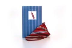 poczta karciany krawat Zdjęcie Stock