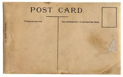 poczta karty rocznik Zdjęcie Stock