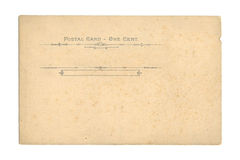 poczta karty rocznik Obrazy Stock