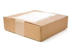 poczta pakiet Zdjęcie Stock