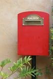 poczta pudełkowata czerwień Zdjęcie Stock
