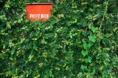 poczta pudełkowata czerwień Zdjęcia Stock
