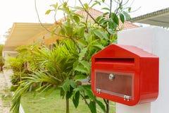 poczta pudełkowata czerwień Zdjęcia Royalty Free