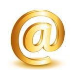 Poczta symbolu kontaktowa ikona Zdjęcia Royalty Free