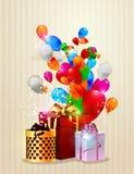 Pocztówki urodzinowe Fotografia Stock