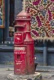 Poczty skrzynka pocztowa Darjeeling Zachodni Bengalia indu obraz stock