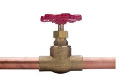podłączeniowa instalacja wodnokanalizacyjna Zdjęcie Royalty Free
