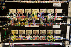 podłączeniowa sieci Obrazy Stock