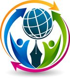 Podłączeniowy medialny logo ilustracji