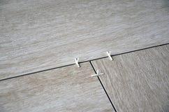 Podłoga tafluje kłaść brukowa fotografia Obraz Stock