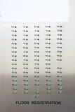 podłoga windy rejestracji zdjęcia royalty free