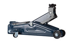 podłogowa hydrauliczna dźwigarka zdjęcia royalty free