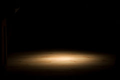 podłogowego twardego drzewa horyzontalny światło reflektorów zdjęcia stock