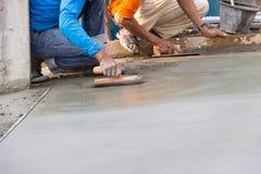 Podłogowy tynku cement obrazy royalty free