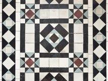 podłogowy wzoru stylu płytki wiktoriański Obraz Royalty Free