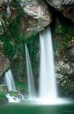 Pod Świętą jamą Covadonga obrazy royalty free