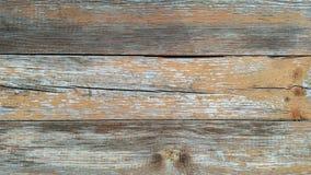 Podławe drewniane deski Obraz Royalty Free