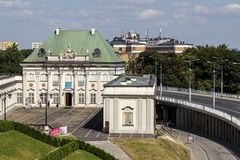 Pod Blacha Palace in Warsaw, Poland Royalty Free Stock Photo