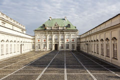 Pod Blacha Palace in Warsaw in Poland Royalty Free Stock Images