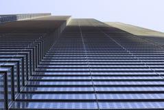 pod budynku wysokim London wzrosta drapacz chmur brać Zdjęcie Stock
