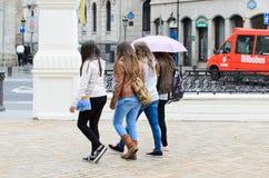 Pod deszczem Obrazy Royalty Free