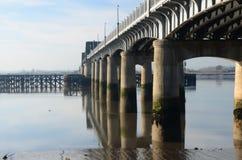 Pod Kincardine mostem Zdjęcie Stock