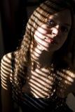 pod kobietami ładny portreta słońce Fotografia Royalty Free