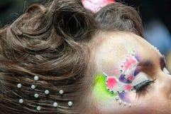 Pod makijażu oka kolorem Obraz Royalty Free