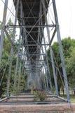 Pod mostem Fotografia Stock