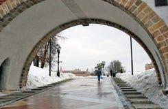 Pod mostem Zdjęcia Stock