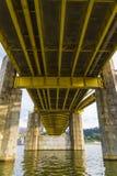 Pod mostem obraz royalty free