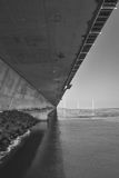 Pod mostem Fotografia Royalty Free