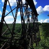 Pod mostem 2 zdjęcie stock