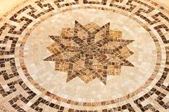 Podłoga gwiazdowa mozaika Fotografia Stock