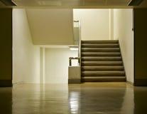 Podłoga i schodek Zdjęcie Stock