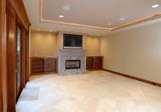 podłogi pokoju rodzinnej otwarte Obrazy Royalty Free