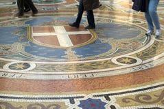 podłogowa mozaika Fotografia Stock