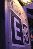 Podłogowi lokacja znaka universal studio zdjęcia royalty free
