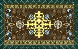 Podłogowy dywan Obraz Royalty Free