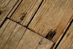 podłogowy stary drewno Obraz Royalty Free