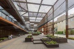 Pod powietrznego spaceru Brazylia inside pawilonem, expo 2015 Mediolan Fotografia Royalty Free