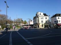 Pod Recklinghausen ` s Grodzkim słońcem obrazy stock