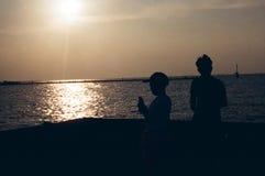 Pod słońcem, stoję Fotografia Stock