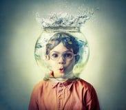 pod wodą fotografia stock