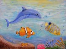 Pod Wodnymi ryba Obraz Royalty Free