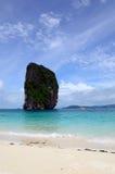 Poda ö i Krabi Thailand Arkivbilder